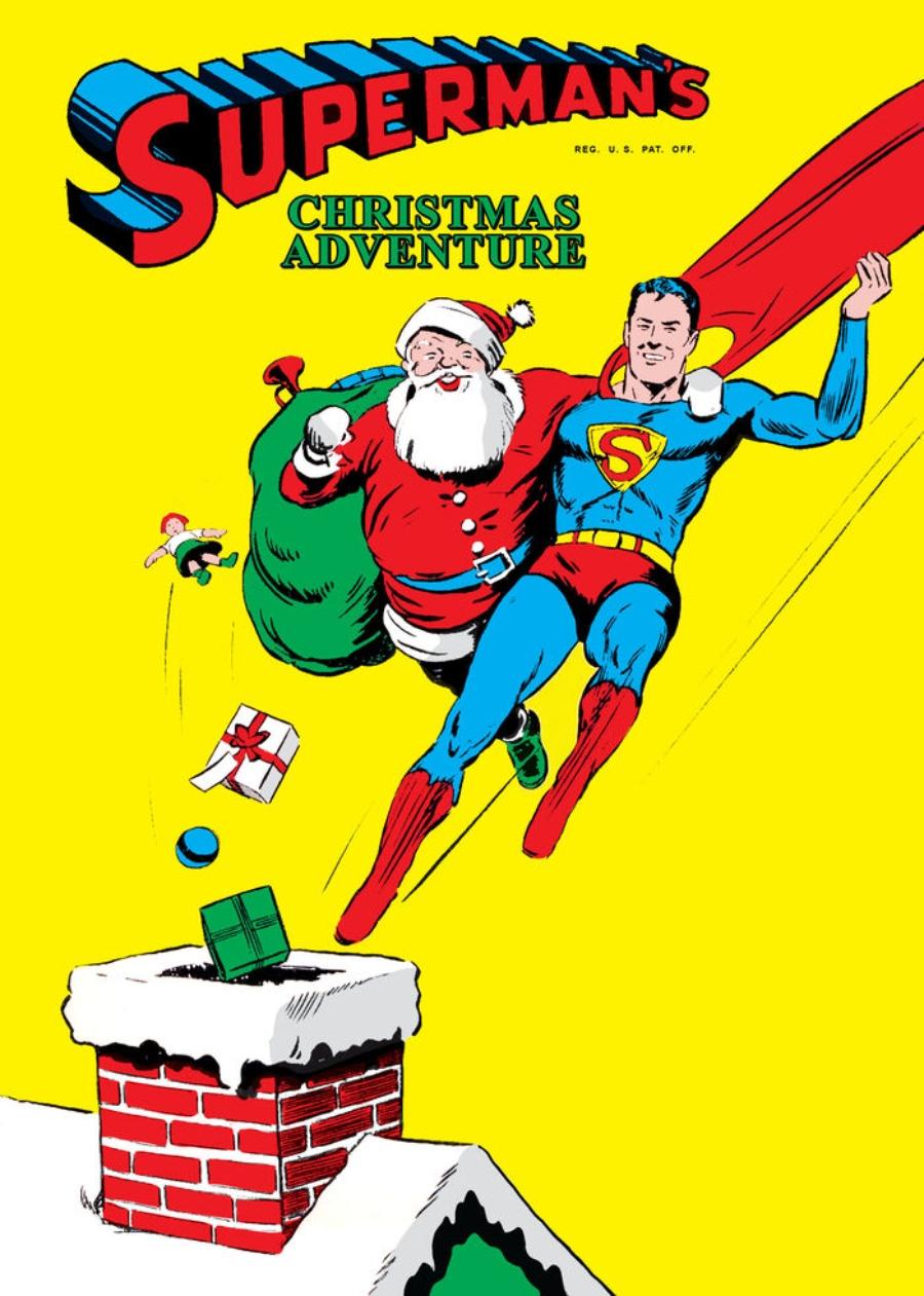 especiales navideños dc comics superman
