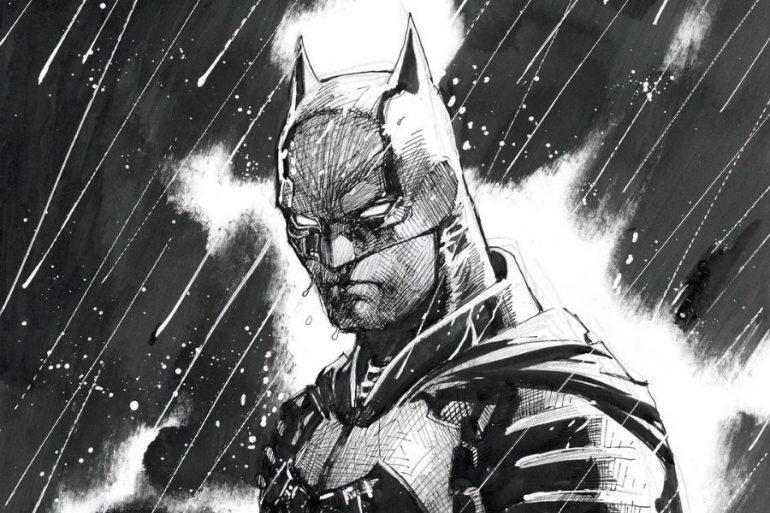 Jim Lee comparte nuevo arte conceptual de The Batman
