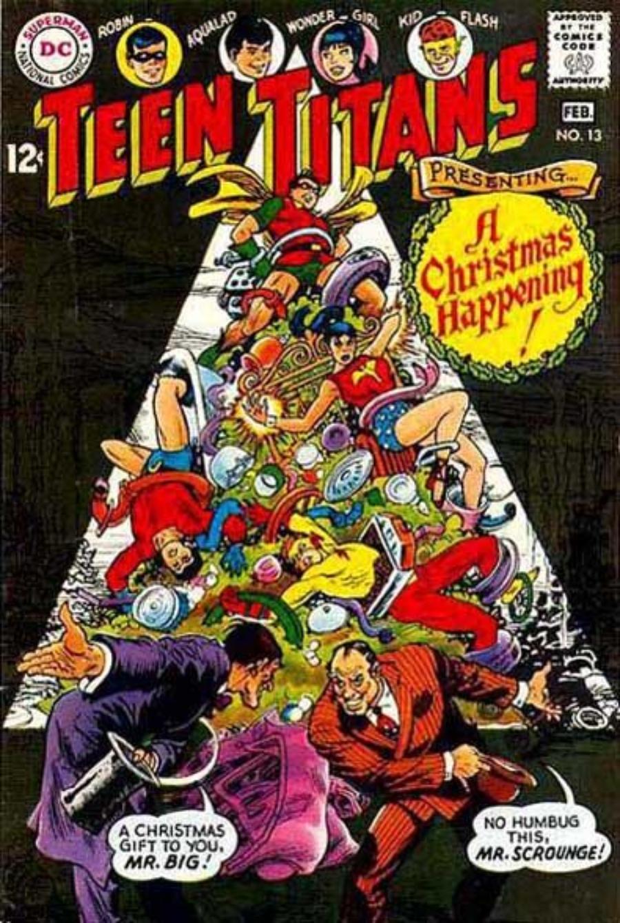 especiales navideños dc comics teen titans