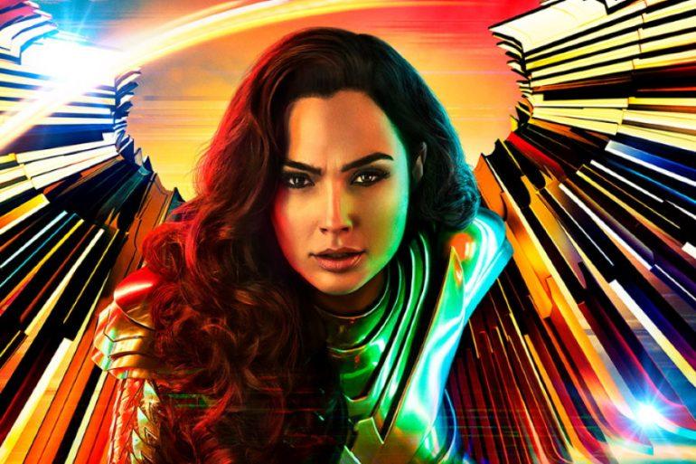 El poder de Wonder Woman 1984 se llena de color con nuevos pósters