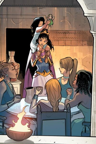 Wonder Woman: ¿Cómo se logran reproducir las Amazonas?
