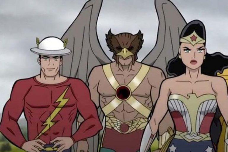 Justice Society: World War II, primera imagen y reparto de voces