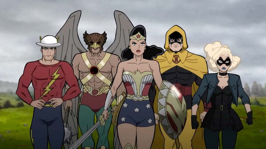 Justice Society: World War II, primera imagen y reparto de voces