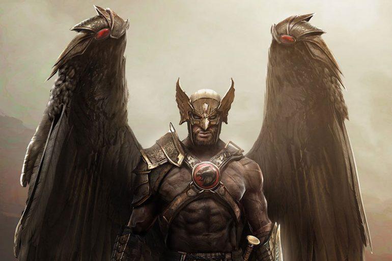 Si el Hawkman de Black Adam es como el de BossLogic, será fantástico