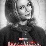 Póster de Elizabeth Olsen como Wanda Maximoff