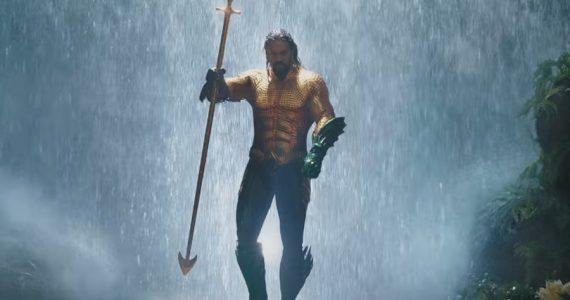 Así lucía Jason Momoa en un traje descartado para Aquaman