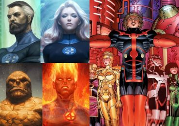 Eternals podría conectarse con Fantastic Four