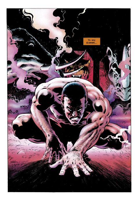 La Colección Definitiva de Novelas Gráficas de Marvel – El Asombroso Spider-Man: La Última Cacería de Kraven