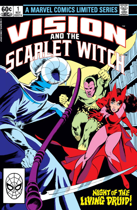 The Vision and the Scarlet Witch de 1982