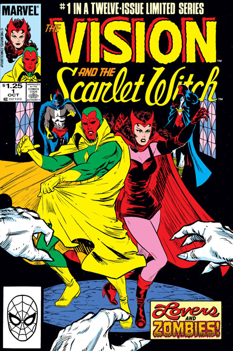 The Vision and the Scarlet Witch Vol. 2 de 1985