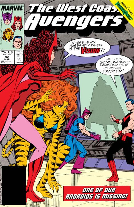 Avengers West Coast: Vision Quest de 1985