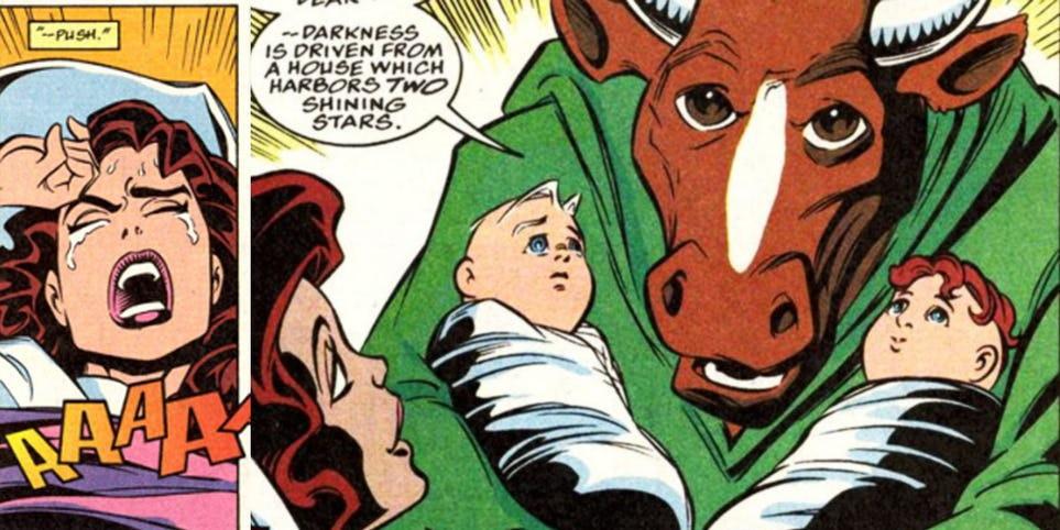 WandaVision: ¿Quienes son realmente los hijos de Wanda y Vision, Billy y Tommy?
