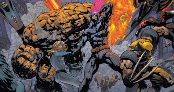 Fox buscó llevar al cine la película X-Men vs Fantastic Four