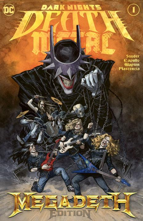 Dark Nights: Death Metal #1 – Edición de Bandas: Megadeth