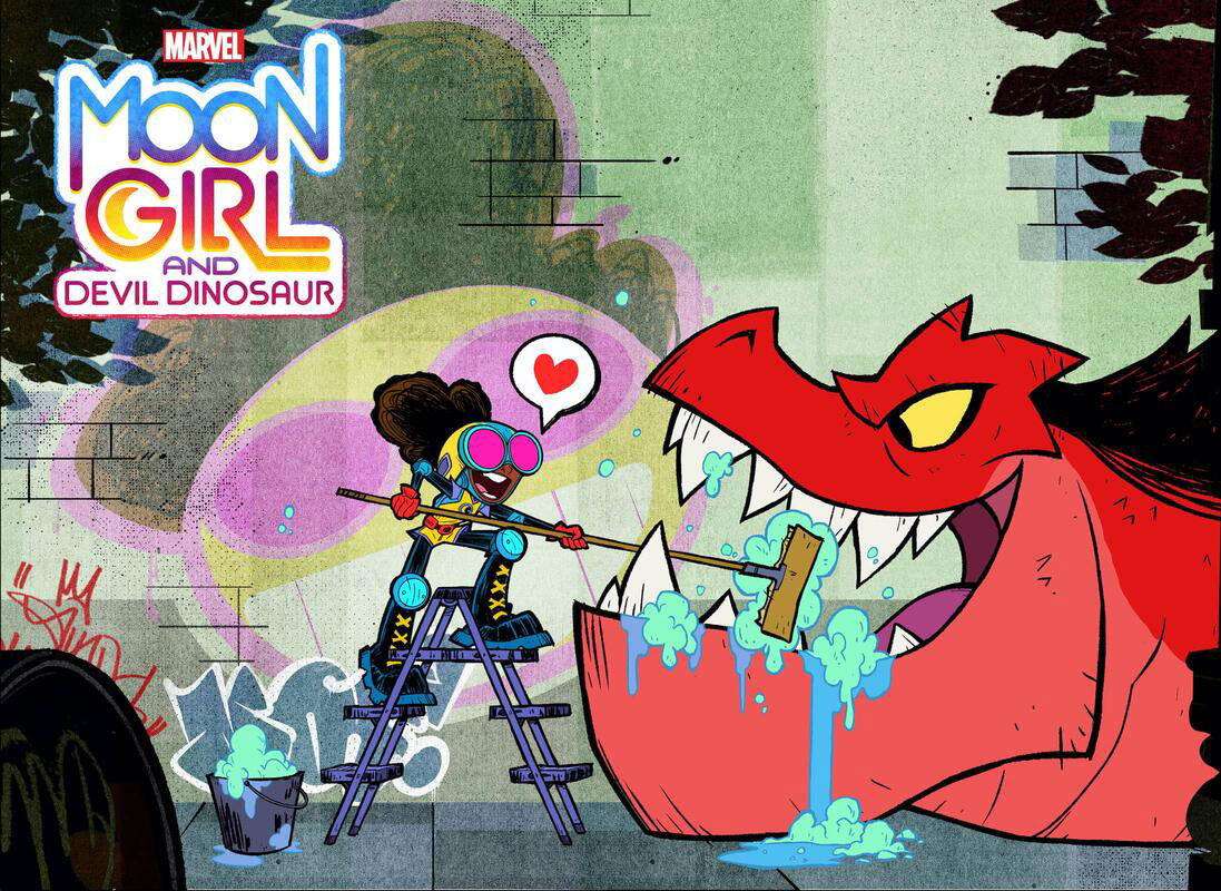 Este será el elenco de voces de Moon Girl and Devil Dinosaur
