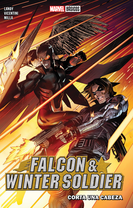 Marvel Básicos – Falcon & Winter Soldier: Corta una cabeza
