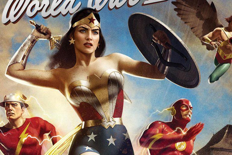 Justice Society: World War II tiene fecha de estreno y un arte maravilloso