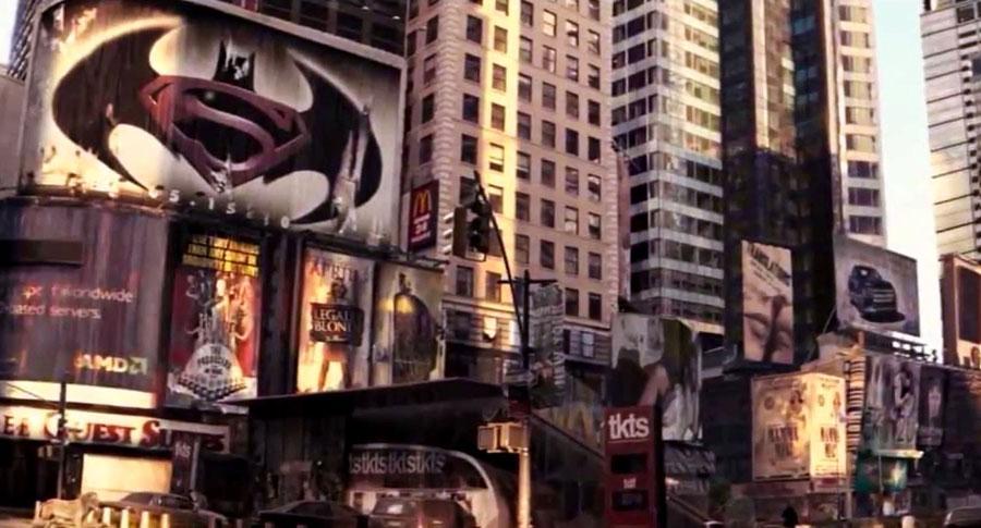 La historia del easter egg de Batman / Superman en Soy Leyenda