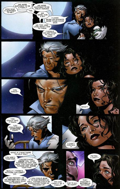 Las veces que Pietro ha actuado como un villano