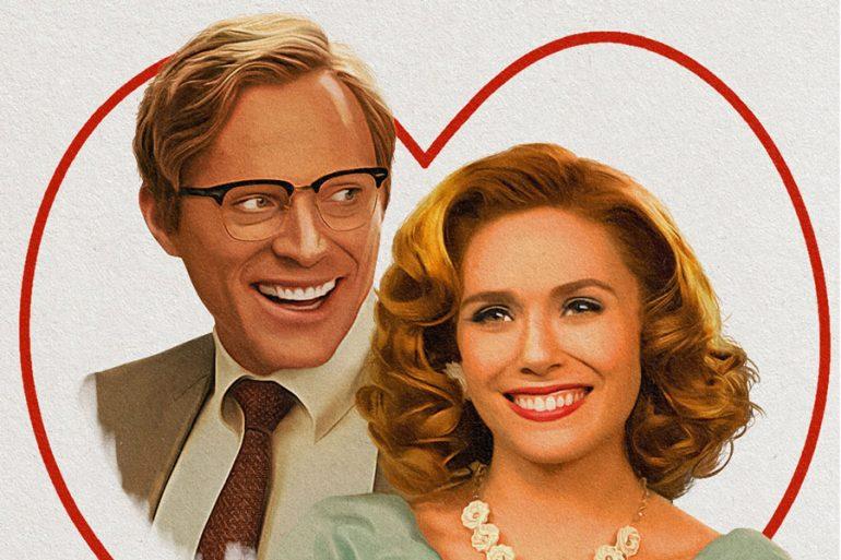 Celebra San Valentín con las postales de WandaVision