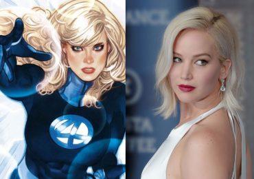 Sobre los rumores de Jennifer Lawrence como Sue Storm, la Mujer Invisible de los 4 Fantásticos