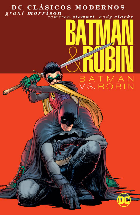 DC Clásicos Modernos – Batman & Robin: Batman vs. Robin