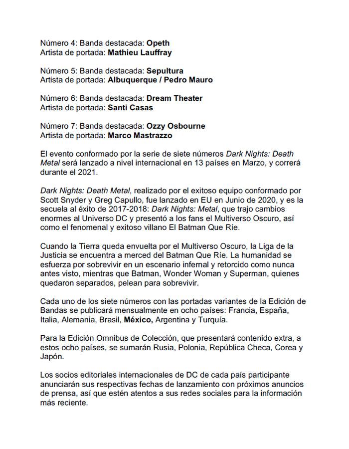 Death Metal press release (español final)