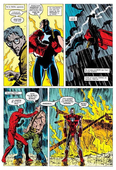 Las coincidencias entre Daredevil: Renacido y La Pasión de Cristo