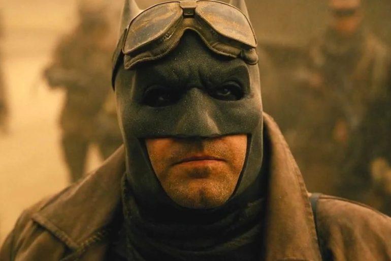 Zack Snyder comparte nueva foto de la pesadilla de Batman en Justice League