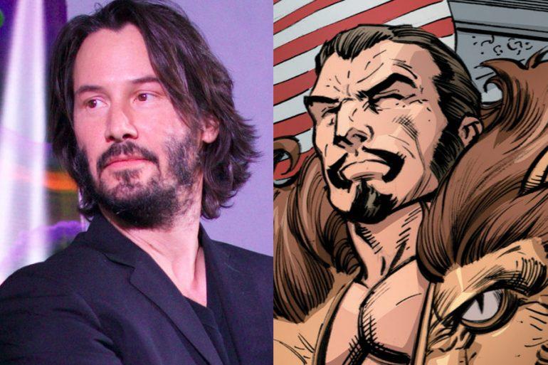 Keanu Reeves podría protagonizar la película de Kraven