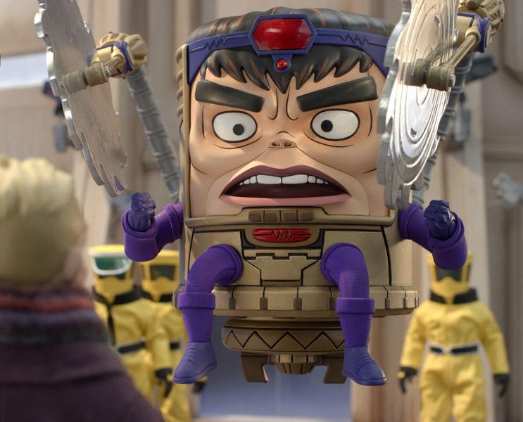 Así luce Mr. Sinister en la serie animada M.O.D.O.K