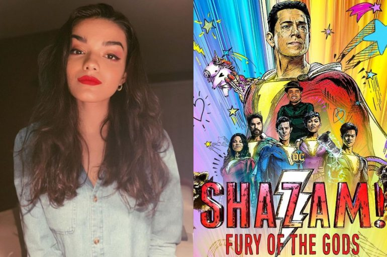 Más talento latino llega al DCEU: Rachel Zegler se une a Shazam! Fury of the Gods
