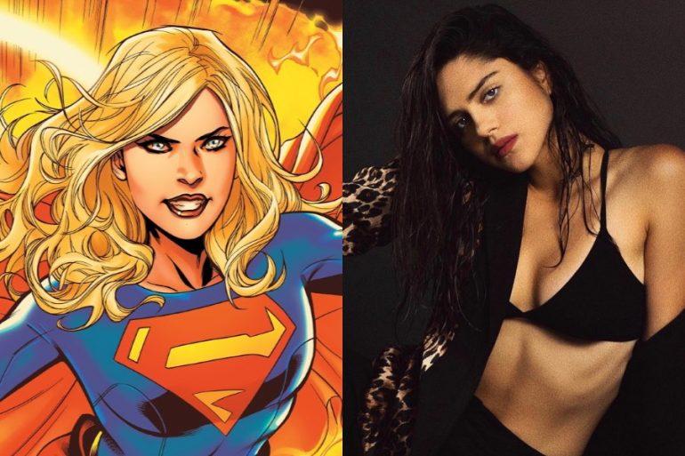 Así podría lucir Supergirl en The Flash, según éste fanart