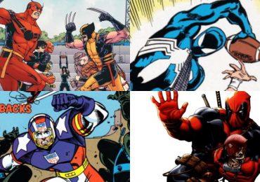 Jugando futbol americano en el Universo Marvel