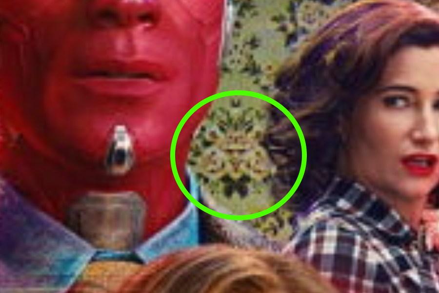 ¿El nuevo póster de WandaVision presentó a Mephisto?