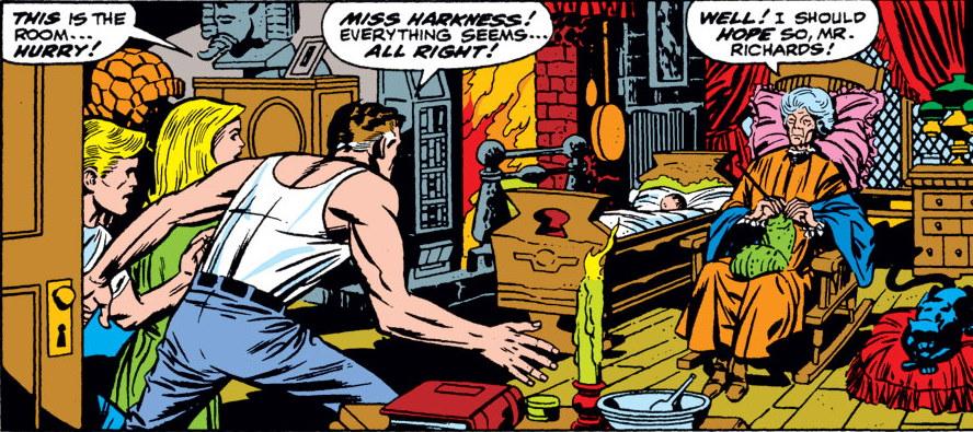 ¿Quién es Agatha Harkness y que busca en WandaVision?