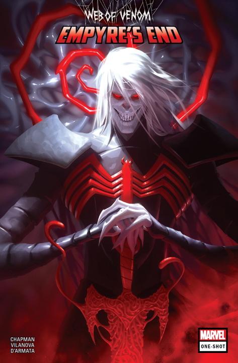 ¿Cómo se relaciona Web of Venom Empyre's End con Empyre y King in Black?