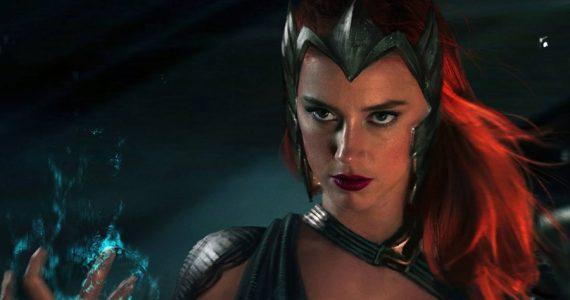 Amber Heard festejó el regreso de Mera en Justice League de Zack Snyder