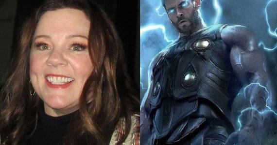 Fotos del set de Thor: Love & Thunder revelan el personaje de Melissa McCarthy