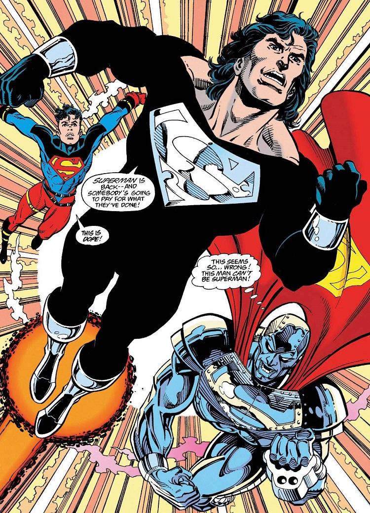Liga de la Justicia de Zack Snyder: nueva imagen de Superman en el traje negro