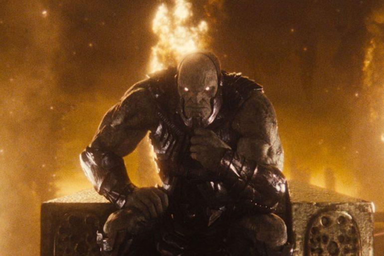 Liga de la Justicia: nueva foto de Darkseid en el trono, en HD