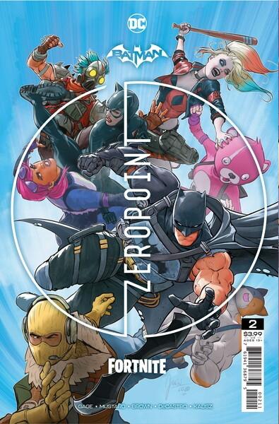 ¡Un Batman amnésico desentraña el misterio de la isla en Batman / Fortnite: Zero Point # 2!