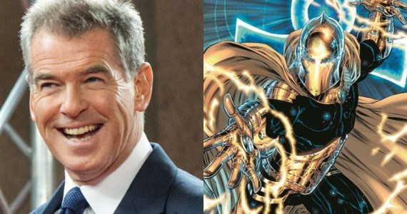 ¡Pierce Brosnan será Dr. Fate en Black Adam!