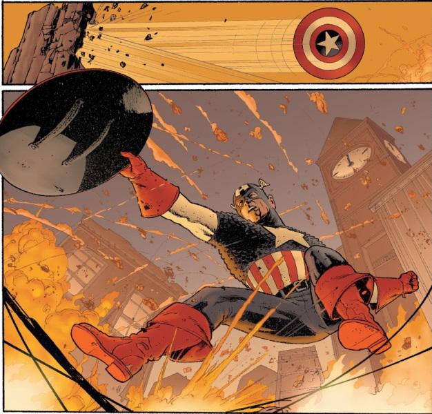 Capitán América: El Nuevo Pacto. El 11 de septiembre desde la óptica de Steve Rogers
