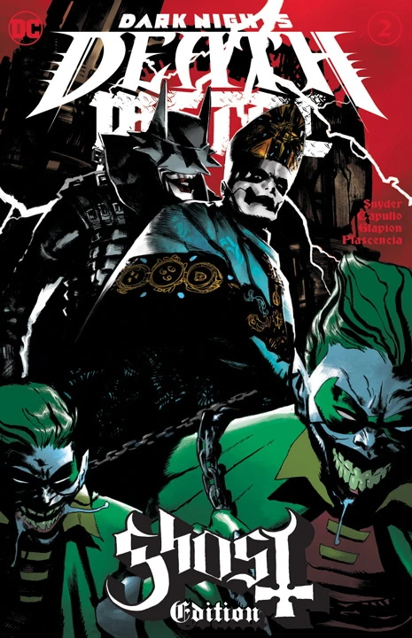 Dark Nights: Death Metal #2 / Ghost