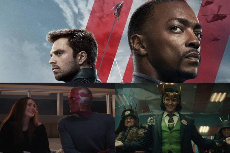 Wanda, Vision y Loki le dan la bienvenida a The Falcon and The Winter Soldier