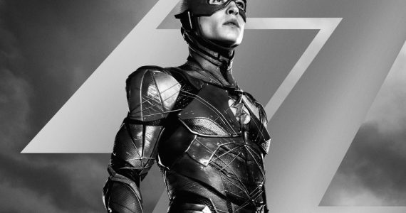 Justice League: La velocidad de Flash es atrapada en nuevo teaser y poster del Snyder Cut
