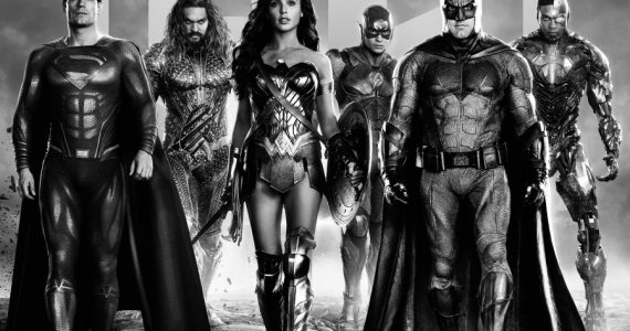 ¡Espectaculares! Llegan nuevos posters del Snyder Cut de Justice League