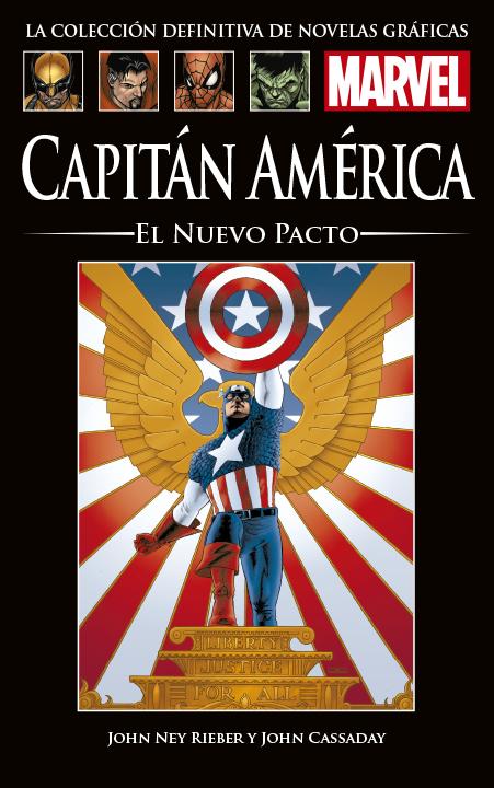 La Colección Definitiva de Novelas Gráficas de Marvel – Capitán América: El Nuevo Pacto