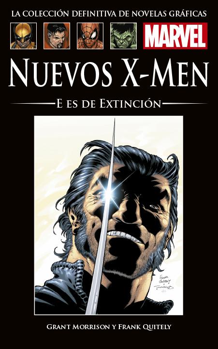La Colección Definitiva de Novelas Gráficas de Marvel – Nuevos X-Men: E es de Extinción